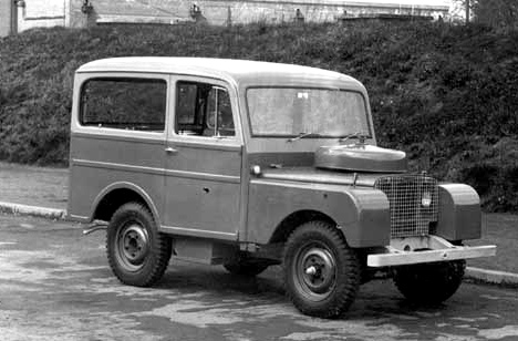 Land Rover Station Wagon 1950